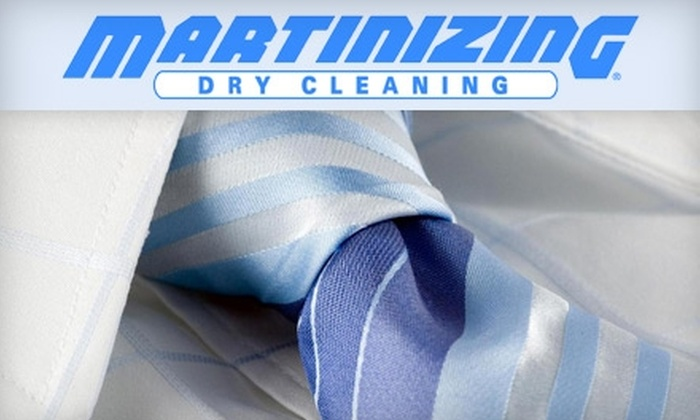 Martinizing Dry Cleaning - Green Bay: $10 for $20 Worth of Dry Cleaning at Martinizing Dry Cleaning