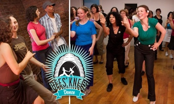 Bees' Knees Dance - Multiple Locations: $15 for Six Dance Classes at Bees' Knees Dance ($60 Value)