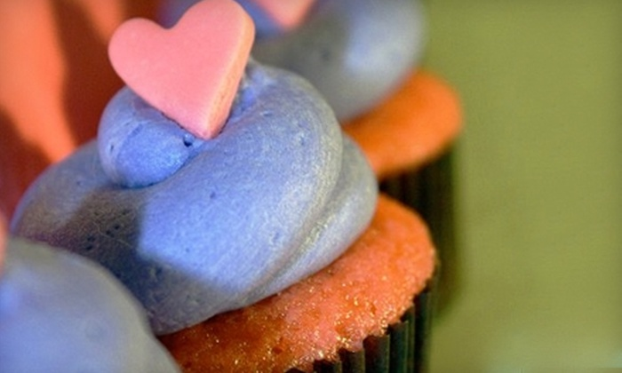 For Cupcake's Sake - Daytona Beach: $13 for One Dozen Cupcakes with Delivery from For Cupcake's Sake ($27.50 Value)
