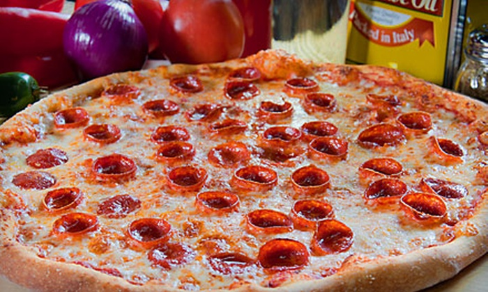Pizza Sola - Multiple Locations: $7 for a Large Cheese Pizza at Pizza Sola ($14 Value)