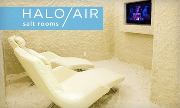 null - Chelsea: $25 for Two Salt Air Treatments at Halo Air Salt Rooms