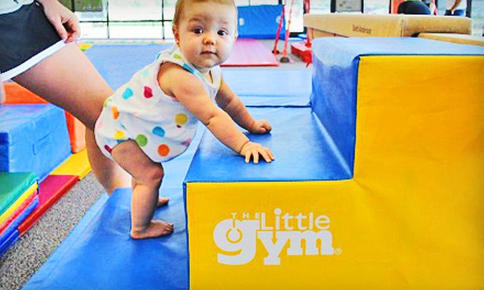 The Little Gym - Multiple Locations: $36 for Four Children's Classes at The Little Gym in West Ashley, Summerville, or Mt. Pleasant (Up to $74 Value)