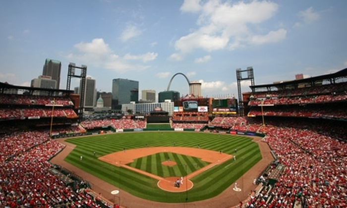 St. Louis Cardinals - Busch Stadium: One Right- or Left-Field Box Ticket to a St. Louis Cardinals Game. Two Games Available.