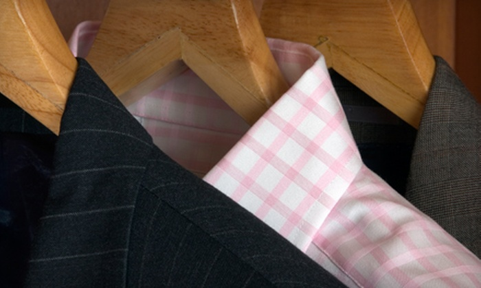 Moose Cleaners - Multiple Locations: $10 for $20 Worth of Dry Cleaning at Moose Cleaners. Nine Locations Available.