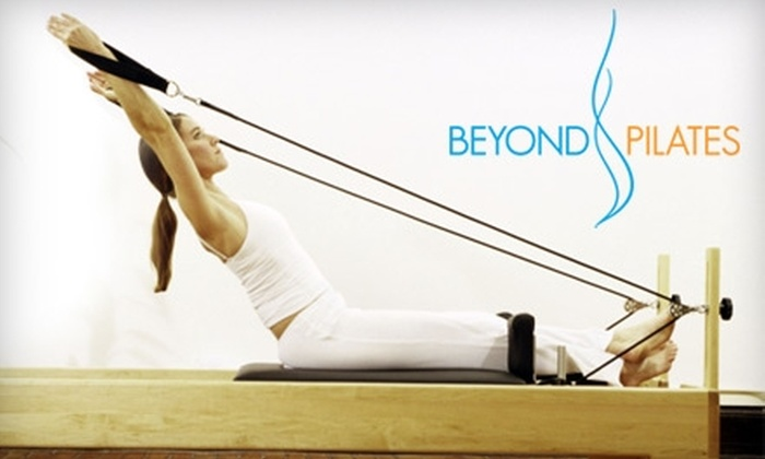 Beyond Pilates - Downtown Vancouver: $29 for Three Group Classes at Beyond Pilates ($90 Value)