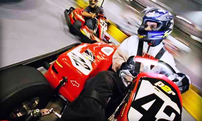 Pole Position Raceway - Multiple Locations: Go-Karting Packages at Pole Position Raceway. Three Options Available.