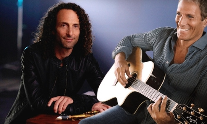 Michael Bolton and Kenny G - Douglas Byrd: One Ticket to Michael Bolton and Kenny G at Crown Coliseum in Fayetteville on June 18 at 8 p.m. (Up to $77.45 Value)