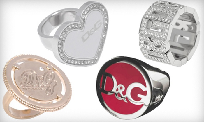 d989541c Up to 71% Off a Stainless Steel D&G Ring | Groupon Goods