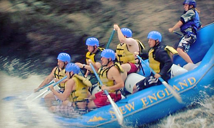 New England Outdoor Center - New England Outdoor Center: Whitewater Rafting for Two or Four Including Lunch from New England Outdoor Center in Millinocket (Up to 62% Off)
