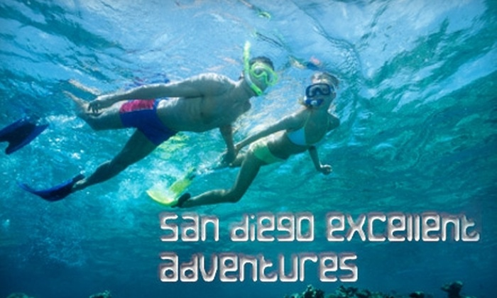 San Diego Excellent Adventures - Mission Beach: $149 for a Discover Scuba Experience for Two, Plus Underwater Photos from San Diego Excellent Adventures