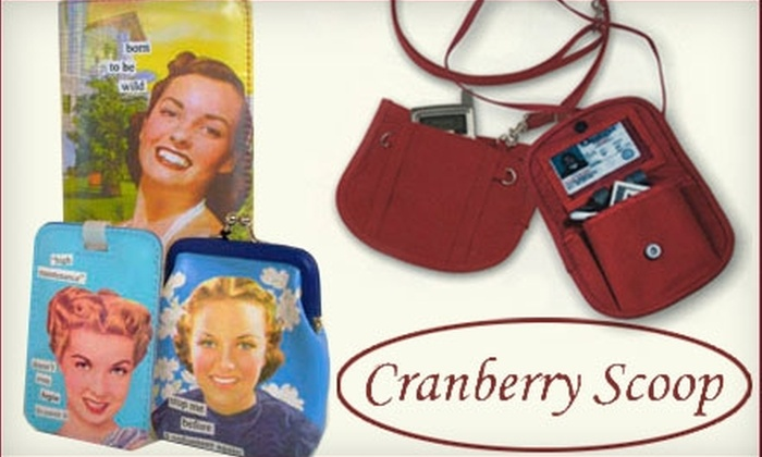Cranberry Scoop - North Los Altos: $15 for $30 Worth of Gifts, Stationery, Decorations, Household Accessories, and More at Cranberry Scoop in Los Altos