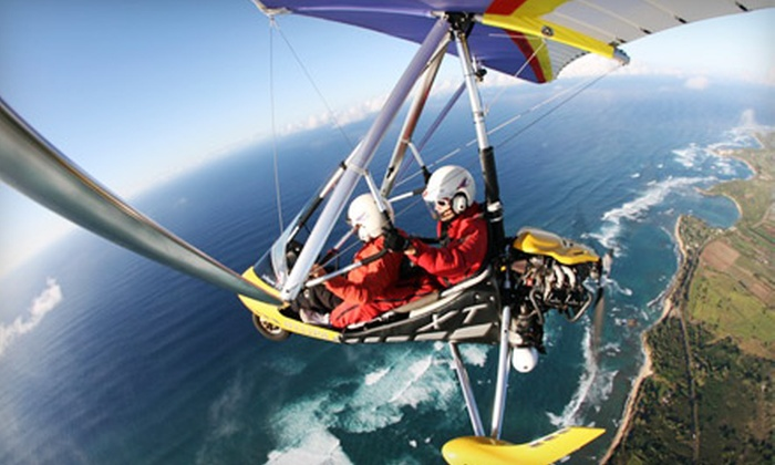 Paradise Air - North Shore: $75 for a Powered-Hang-Gliding Lesson from Paradise Air