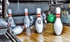 Chipper's Lanes Entertainment - Multiple Locations: Arcade, Bowling, Laser Tag, and Pizza Packages at Chipper's Lanes (Up to 50% Off). 11 Options Available.