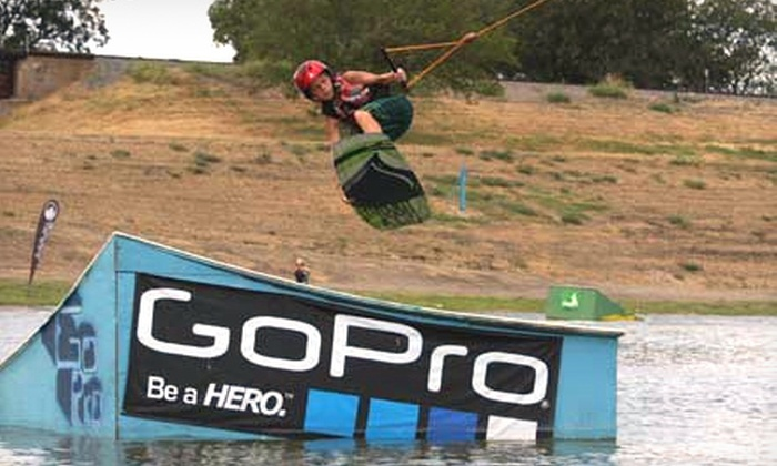 Cowtown Wakepark - Fort Worth: Two-Hour or All-Day Wakeboarding with Equipment or Learn to Wakeboard Camp at Cowtown Wakepark (Up to 75% Off)