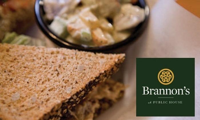 Brannon's: A Public House - Central City: $6 for $12 Worth of Irish Cuisine at Brannon's: A Public House