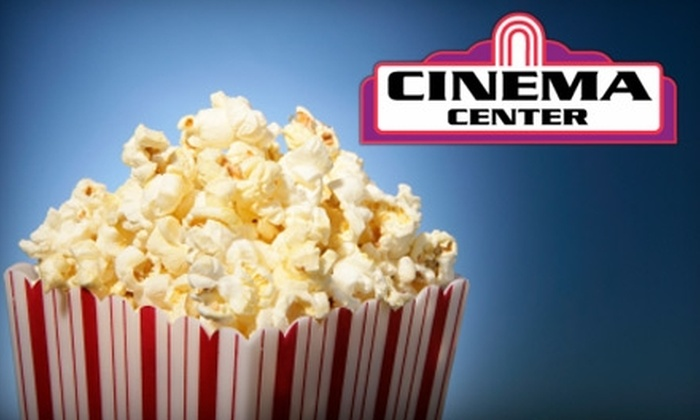 Cinema Center - Multiple Locations: $12 for Two Movie Tickets and a Medium Popcorn at Cinema Center Theaters (Up to $24.50 Value). Choose from Five Theaters.