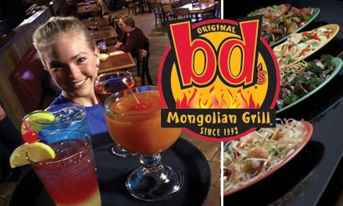 bd's Mongolian Grill Hampton Roads - Colliseum Central: $10 for $20 Worth of Create-Your-Own Stir-Fry and More at bd's Mongolian Grill in Hampton