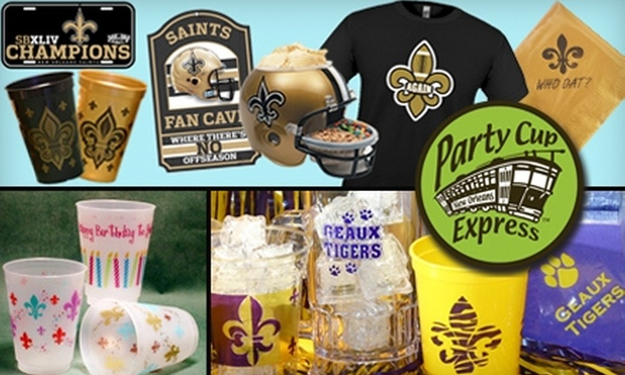 Party Cup Express - 2: $10 for $20 Worth of Party Supplies at Party Cup Express