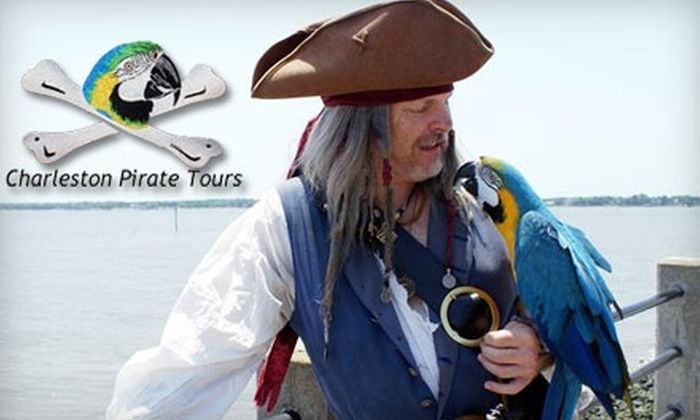 Charleston Pirate Tours - French Quarter: $9 for One Walking-Tour Ticket from Charleston Pirate Tours