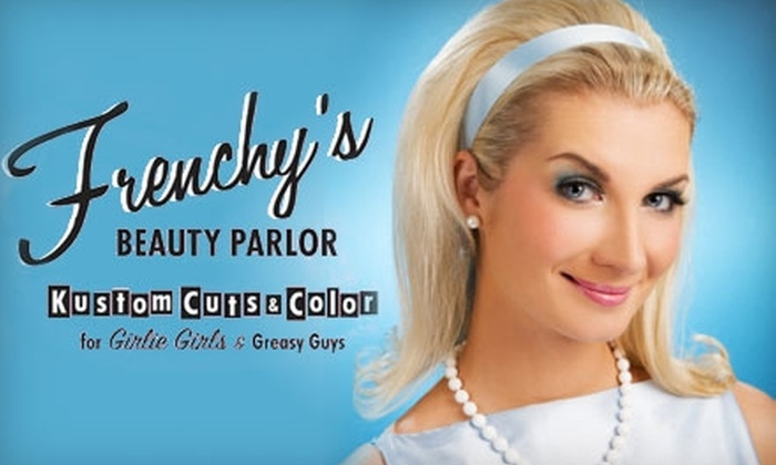 Frenchy's Beauty Parlor - Austin: $79 for a Haircut, Partial Highlites, and Gloss (up to a $165 Value) or $149 for a Keratin Smoothing Hair Treatment ($350 Value) at Frenchy's Beauty Parlor