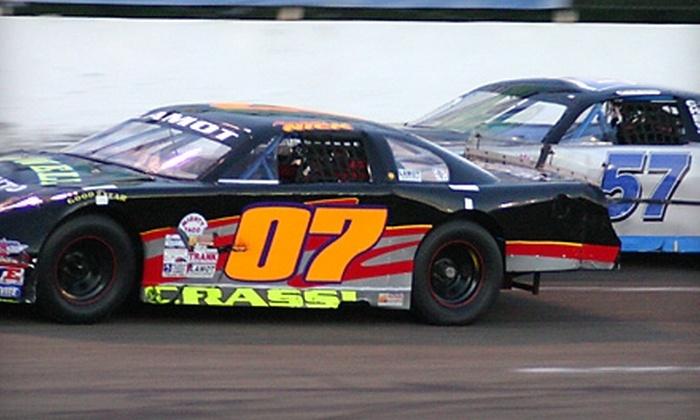 Holland NASCAR Motorsports Complex - Buffalo: $20 for Four Tickets and Four Hotdogs at Holland NASCAR Motorsports Complex (Up to $50 Value)