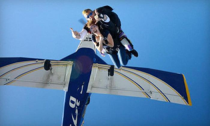 Daytona SkyDive - De Land: $125 for a Tandem Skydive Jump from Daytona Skydive ($210 Value)