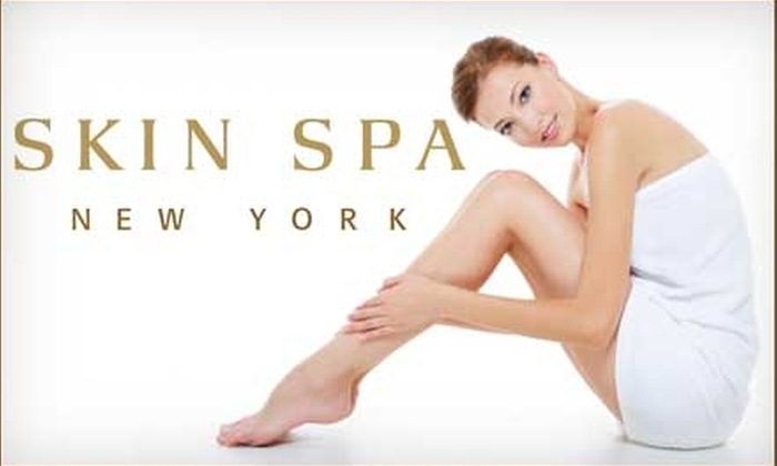 Skin Spa - Multiple Locations: $99 for Choice of Laser Hair-Removal Package at Skin Spa (Up to $350 Value)