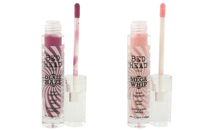 TiGi Bed Head Glaze Daze or Mega Whip Luxe Lipgloss