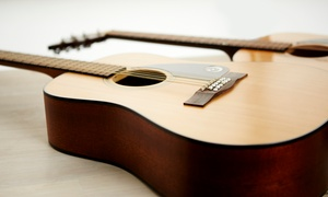 RockStar Guitar: Two or Four Half- or One-Hour Guitar Lessons at RockStar Guitar (Up to 56% Off)