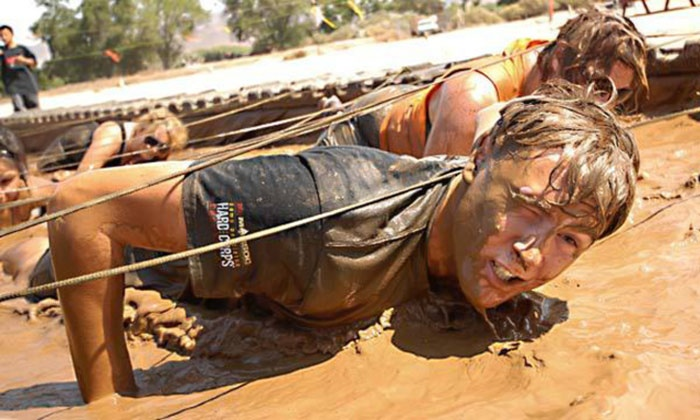Hot and Dirty Mud Run - Hot an Dirty Mud Run: Muddy Madness or Mud Splash Run One, Two, or Four from Hot An Dirty Mud Run (Up to 48% Off)