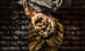 13 Stories Haunted House: Recruit Combat or Black Ops Passes for One or Two to Zombie Kill at 13 Stories Haunted House (Up to 36% Off)