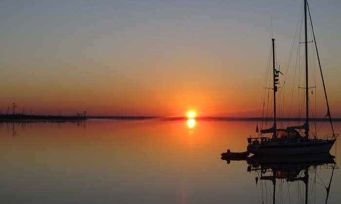 Sail South Carolina - Harleston Village: Two-Hour Sunset Cruise or Four-Hour Family Day for Up to Six at Sail South Carolina (Half Off)