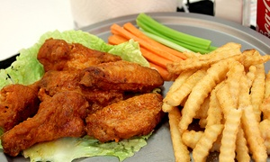 Alamo City Wings: $12 for $20 Worth of Chicken Wings at Alamo City Wings. Three Locations Available.