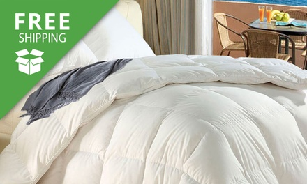Free Shipping: AllSeason Bamboo Quilt: Single $35, Double $45, Queen $55, or King $65 Don't Pay up to $139