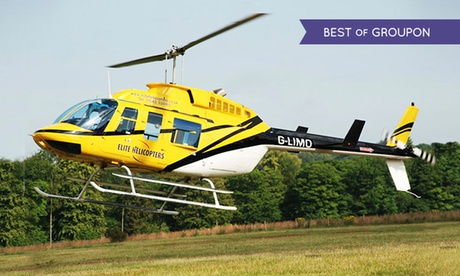 Experience: Helicopter Flight For just: £41.0