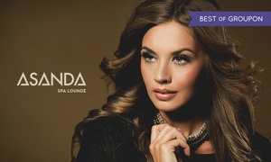 Asanda Aveda Spa Lounge: All-Over Color, Highlights, or Ombre or Balayage Artistry Color at Asanda Aveda Spa Lounge (Up to 51% Off)