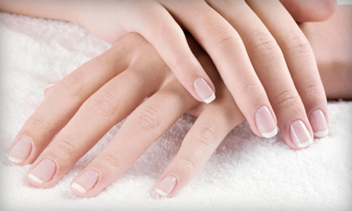 Abaka Salon - Miami: Manicure, Shellac Manicure or Fill, or Full Set of Acrylics with Fill at Abaka Salon (Up to 56% Off)