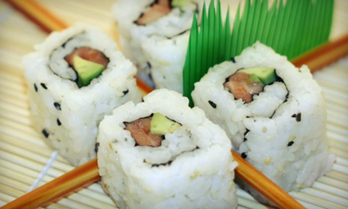 Maru Maru - Downtown: Sushi and Japanese Food at Maru Maru (Up to 52% Off). Three Options Available.