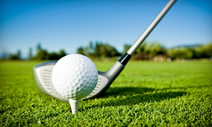 Tee 2 Green Golf Range and Practice Facility - South Side: $29 for 12 Baskets of Golf Balls ($60 Value) or $50 for Monthly Golf Card ($100 Value) at Tee 2 Green Golf Range and Practice Facility