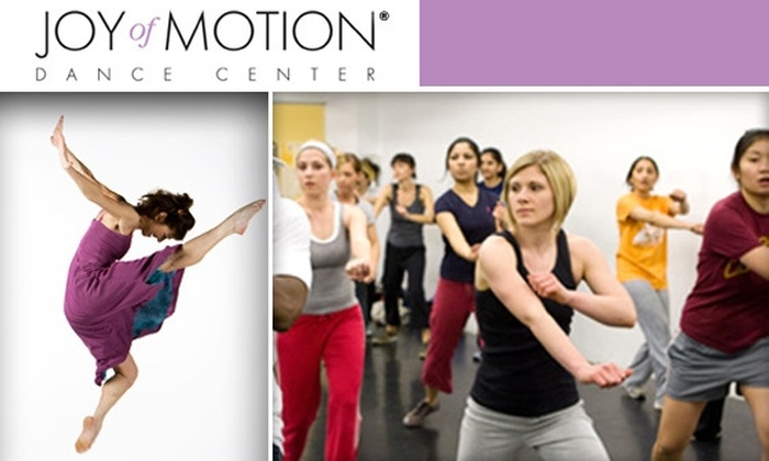 Joy of Motion Dance Center - Multiple Locations: $43 for Six-Week Introductory or Social Dance Session at Joy of Motion Dance Center ($99 Value)