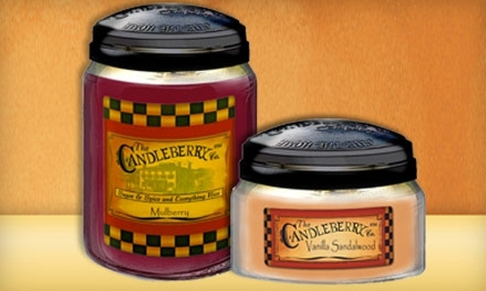 The Candleberry Company: $15 for $30 Worth of Candles and Gifts from The Candleberry Company