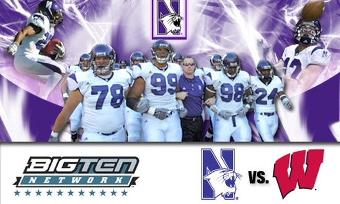 Northwestern Football - Chicago: $20 Ticket to See Northwestern Wildcats vs. Wisconsin Badgers on November 21 at 2:30 p.m.