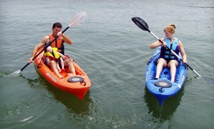 Two 4-Hour Single-Person Kayak Rentals (a $50 value)  - Claytor Lake Water Sports in Dublin