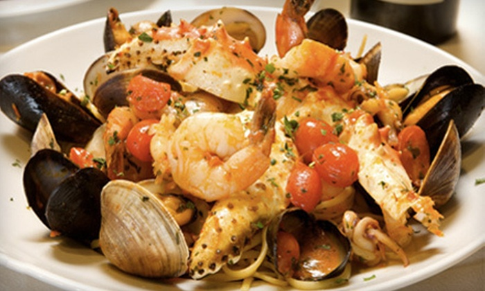 Marino's Italian Restaurant & Grill - Vaughan: Italian Fare and Drinks at Marino's Italian Restaurant & Grill in Woodbridge (Up to 58% Off). Two Options Available.