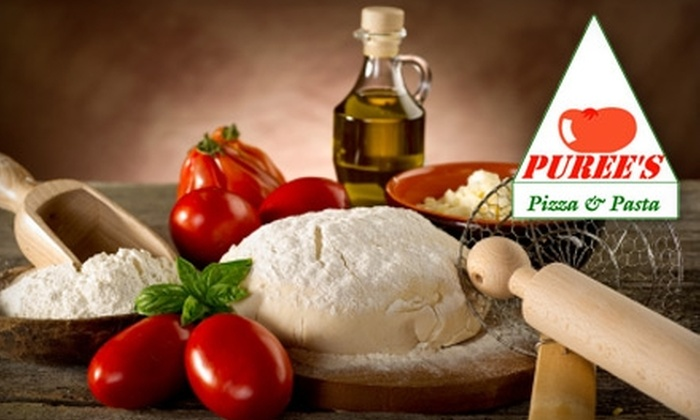 Puree's Pizza - Oak Park: $5 for $10 Worth of Pizza, Pasta, Sandwiches, and More at Puree's Pizza & Pasta in Oak Park