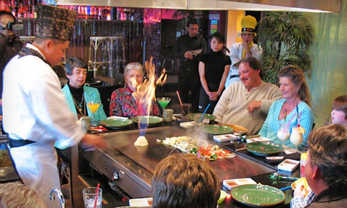 Tombo Hibachi & Tiki Lounge - Fairfield: Japanese Cuisine and Drinks for Dinner or Lunch at Tombo Hibachi & Tiki Lounge in Fairfield (Up to 53% Off)