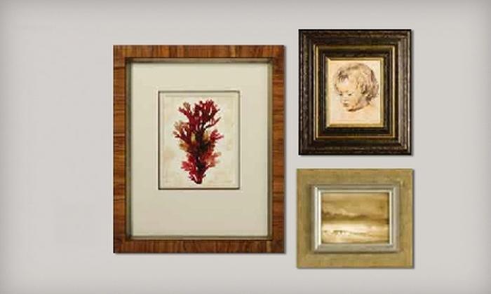 Framing & Art Centre - Multiple Locations: $45 for $100 Worth of Custom Framing at Framing & Art Centre