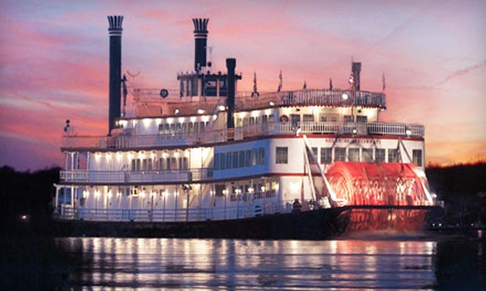 BB Riverboats - Newport: $49 for BB Riverboats Family-Membership Package in Newport ($95 Value)