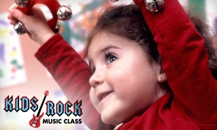 Kids Rock Music Class - Bonita Springs: Music Classes at Kids Rock Music Class. Choose from Two Options.