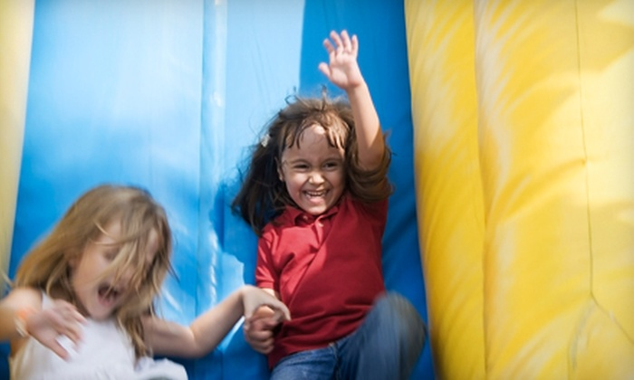 Jump For Fun! - Commerce Business Park: $17 for a Five-Jump Kids' Pass to Jump For Fun! in Southlake ($35 Value)